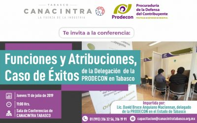 Funciones y Atribuciones, caso de Éxitos de la Delegación de la PRODECON en Tabasco