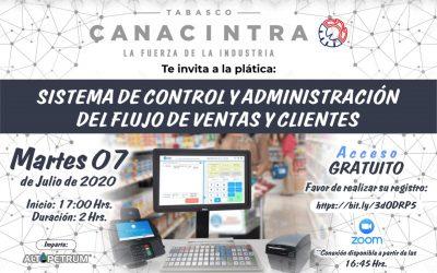Sistema de control y administración del flujo de ventas y clientes
