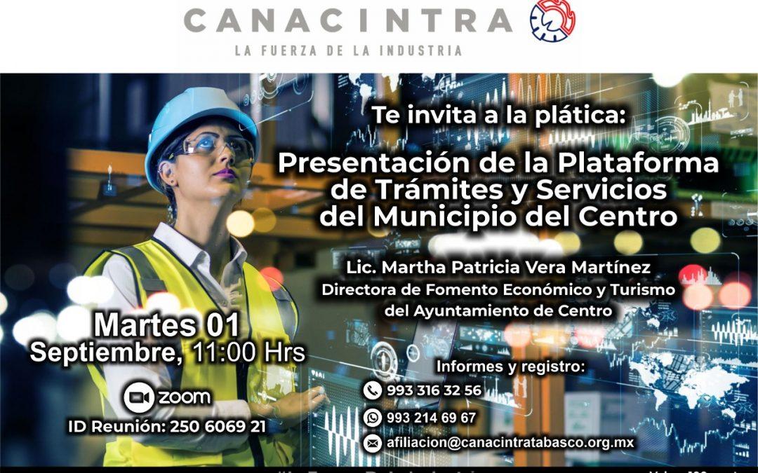 Presentación de la plataforma de trámites y servicios del municipio de Centro
