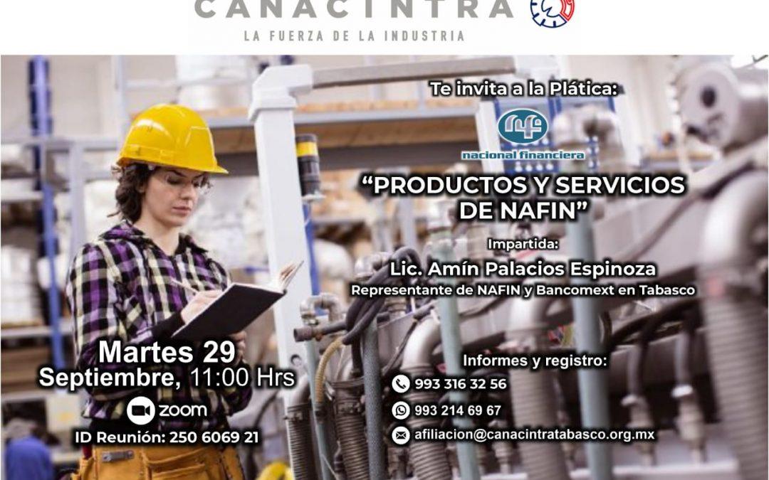 Productos y servicios de NAFIN