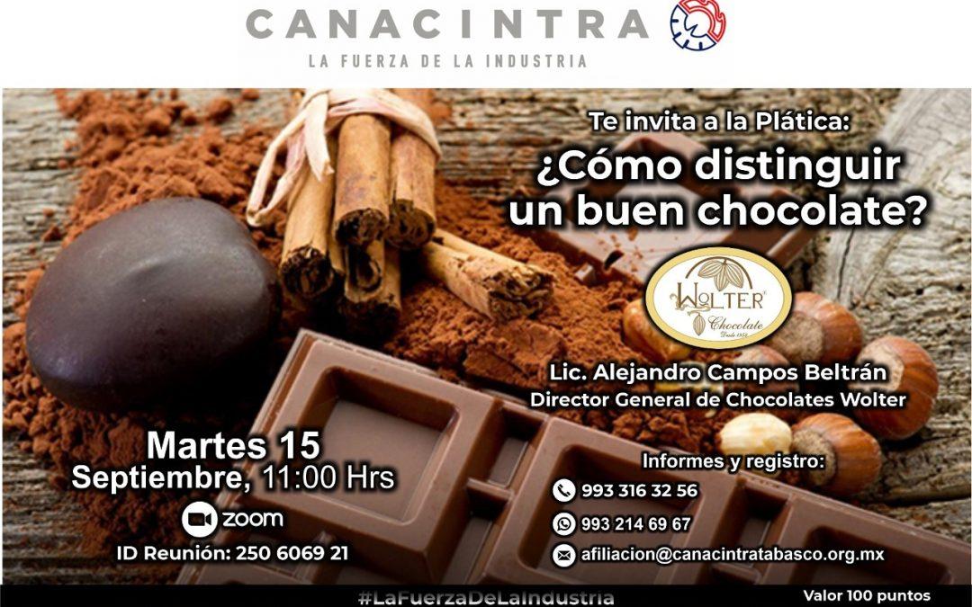 ¿Cómo distinguir un buen chocolate?