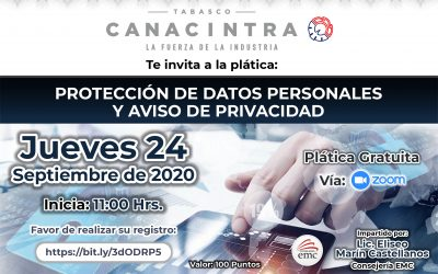 Protección de datos personales y aviso de privacidad