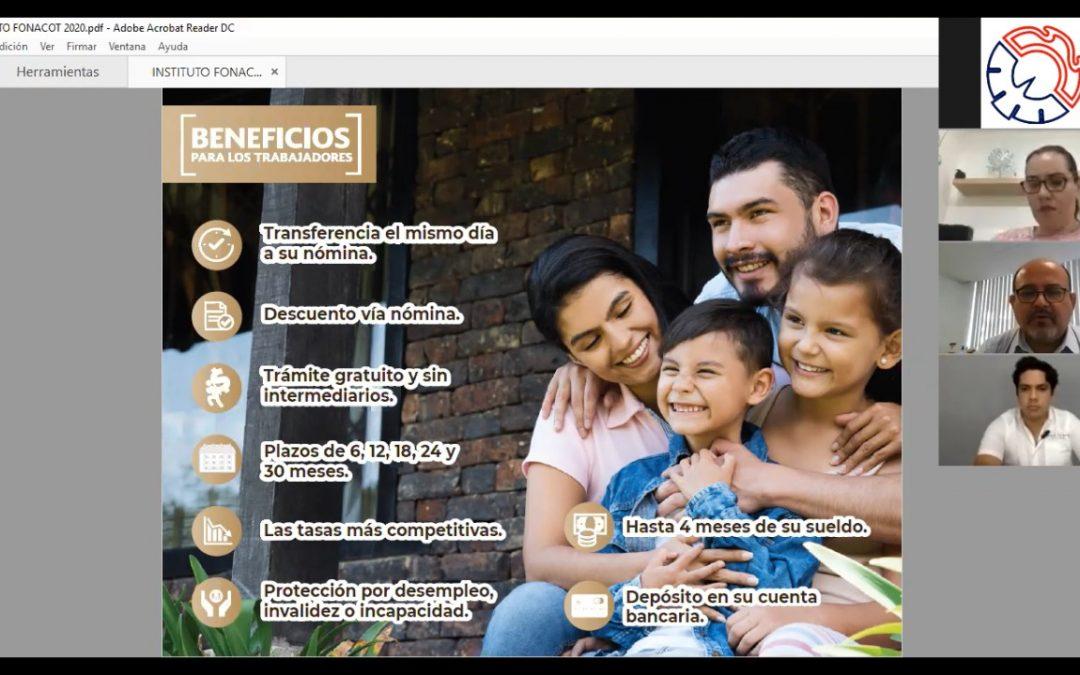 Otorga beneficios FONACOT a las empresas