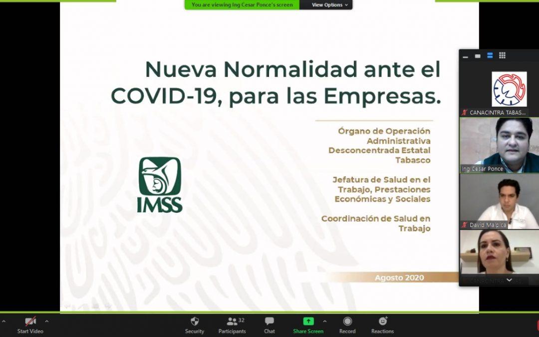 Nueva normalidad ante el COVID-19 en las empresas