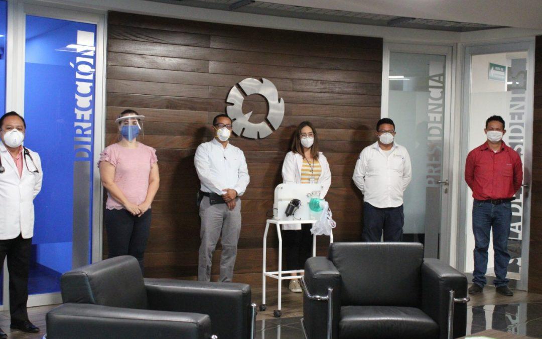 Industriales al servicio de México para combatir el COVID-19