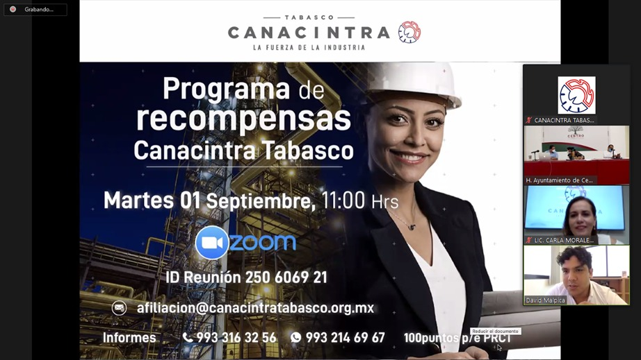 Presenta Ayuntamiento de Centro Plataforma Digital