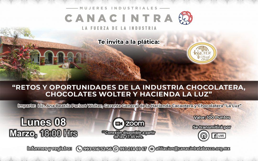 Retos y oportunidades de la industria chocolatera, Chocolate wolter y hacienda la luz
