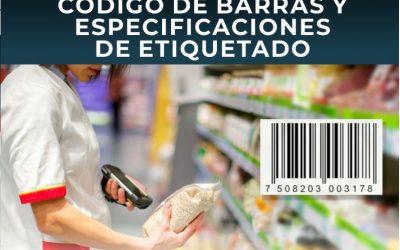 Código de Barra y Especificaciones de Etiquetado
