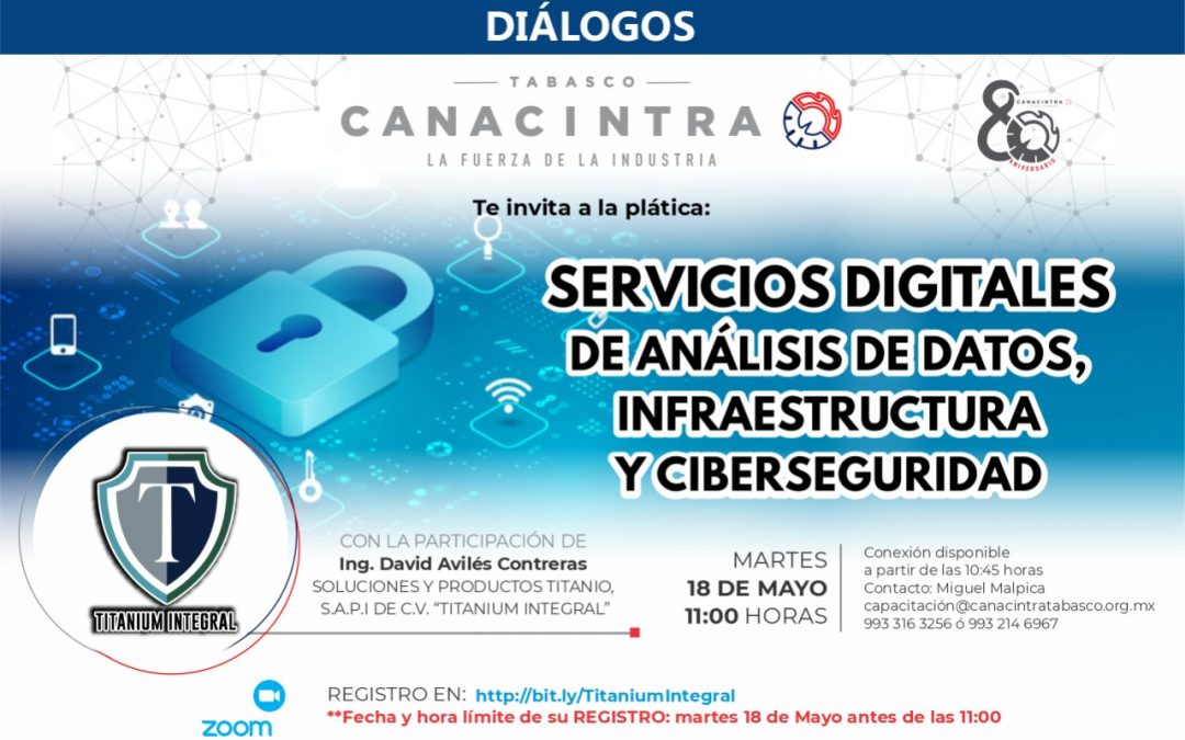 Servicios digitales de análisis de datos, infraestructura y ciberseguridad