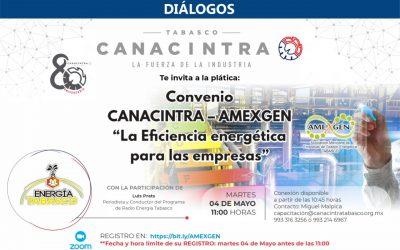 """CANACINTRA-AMEXGEN """"La eficiencia energética para las empresas"""""""