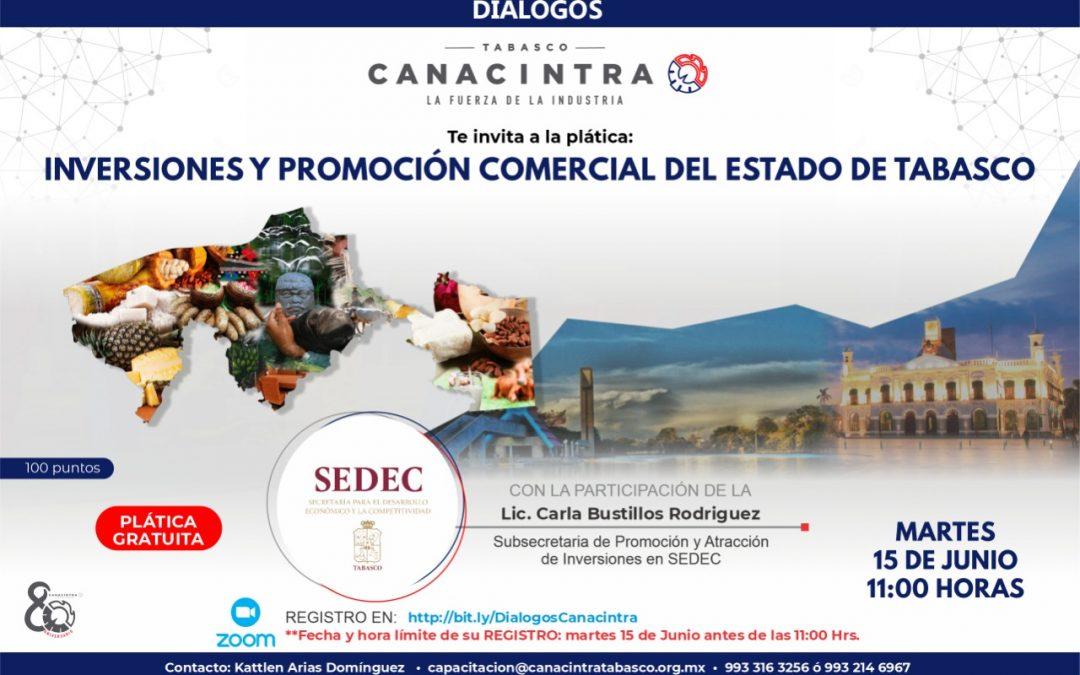 Inversiones y promoción comercial del estado de Tabasco