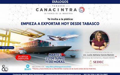 Empieza a exportar hoy desde Tabasco