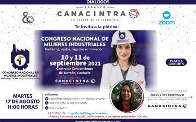 Plática del 1er. Congreso Nacional de Mujeres Industriales