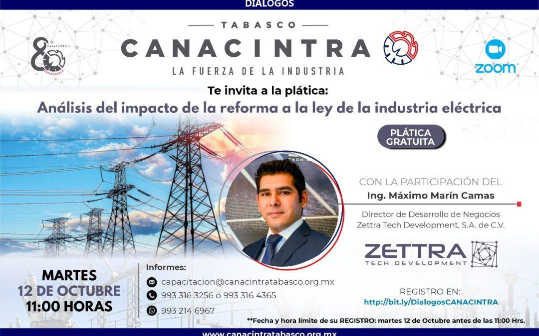 Análisis del impacto de la reforma a la ley de la industria eléctrica